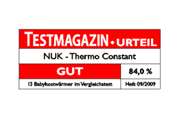 [Translate to greek:] Germany 2009: Good – NUK Baby Food Warmer Thermo Constant