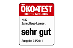 [Translate to greek:] Germany 2011: Very Good – Training Toothbrush Set + Protective Ring