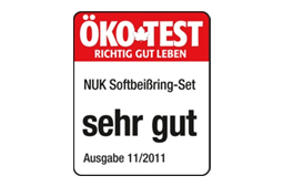 [Translate to greek:] Germany 2012: Very Good – NUK Connect-and-Play Teething Ring Set
