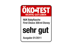 [Translate to greek:] Germany 2011: Very Good – NUK First Choice+ 300ml Bottle Disney