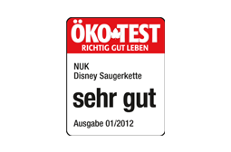 [Translate to greek:] Germany 2012: Very Good – NUK Soother Chain Disney