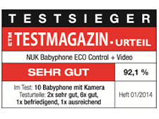 [Translate to greek:] Germany 2014: NUK Babyhone ECO Control+ Video