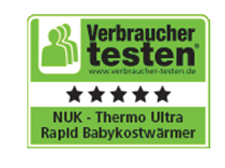 [Translate to greek:] Germany 2013: Very Good - NUK Babyfood Warmer Thermo Ultra Rapid