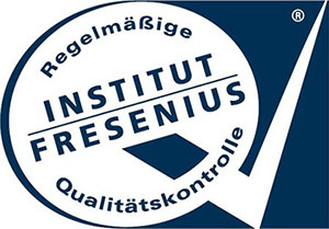[Translate to greek:] Logo of the independent German Fresenius Institute