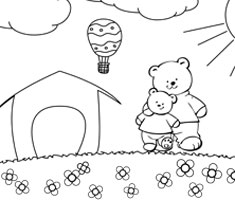 [Translate to greek:] NUK colouring page