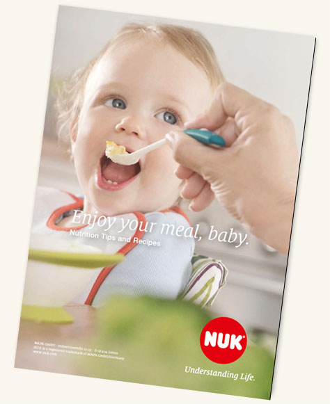 [Translate to greek:] NUK Kids Food Recipe Booklet