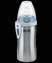 NUK Παγουράκι Active Cup ανοξείδωτο 215 ml με στόμιο