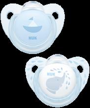 NUK Trendline Baby Rose & Blue Πιπίλα