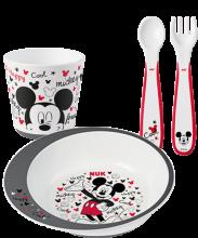 NUK Disney Mickey εκπαιδευτικό σετ φαγητού