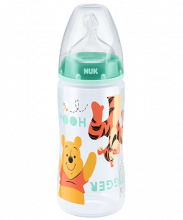 NUK First Choice Plus Disney Winnie the Pooh Μπιμπερό πολυπροπυλενίου (PP) 300ml με θηλή