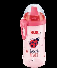 NUK Παγουράκι Flexi Cup με καλαμάκι Soft 300 ml
