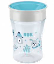 NUK Magic Cup Winter Wonderland 230ml με χείλος