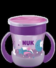 NUK Mini Magic Cup Night 160ml με χείλος και καπάκι