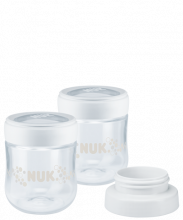 NUK Nature Sense Δοχείο συλλογής μητρικού γάλακτος με προσαρμογέα θήλαστρου