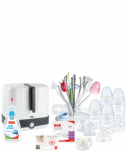 NUK Starter Set Hygiene with temperature control