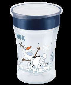 NUK Disney Frozen Magic Cup 230ml με χείλος και καπάκι