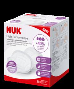 NUK Επιθέματα στήθους High Performance 30 τεμ. ανά συσκευασία