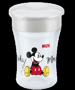 NUK Disney Mickey Mouse Magic Cup 230ml με χείλος και καπάκι