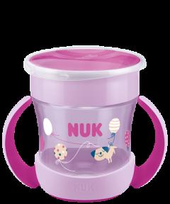 NUK Mini Magic Cup 160ml με χείλος και καπάκι