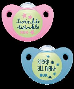 NUK Trendline Night & Day Πιπίλα
